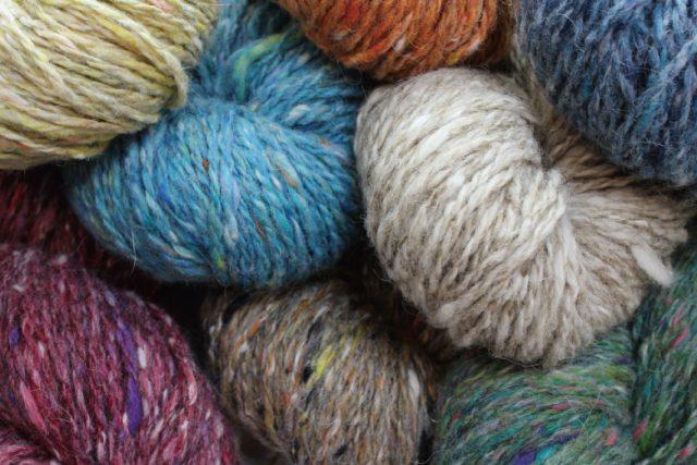 いろいろな杢糸